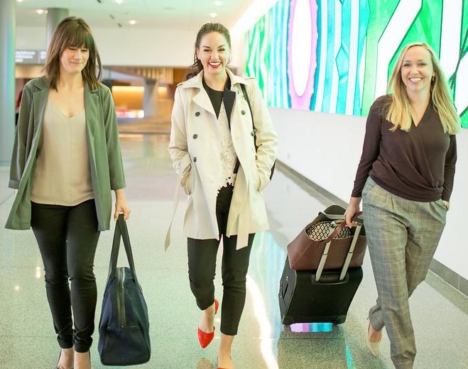 Women in airport