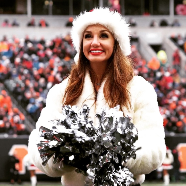 Emilyjo at the Christmas Eve game