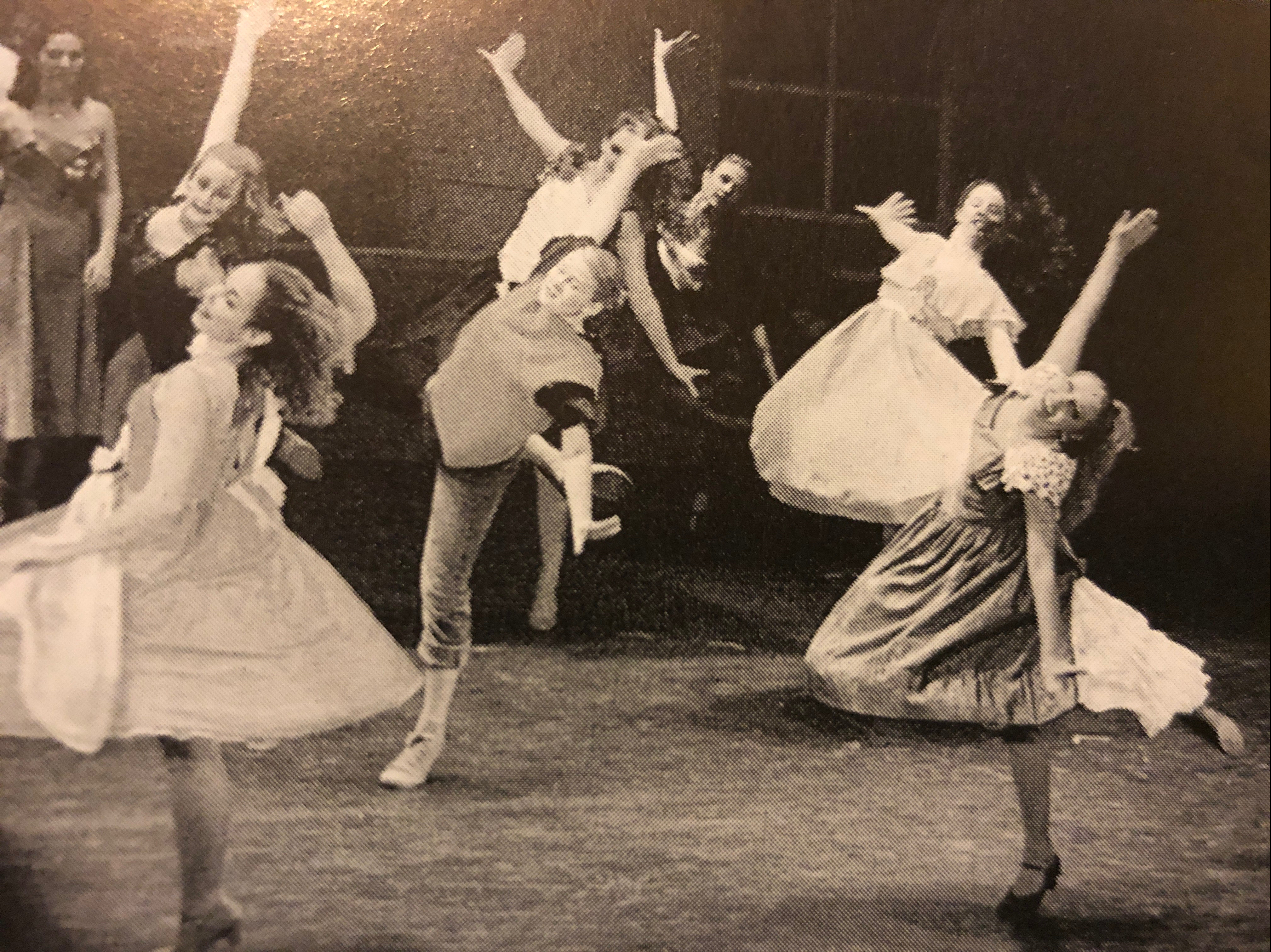 Amanda dances in a production of West Side Story.