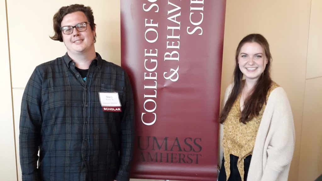 UMass students who won the GGTW scholarships for sustainable community development.